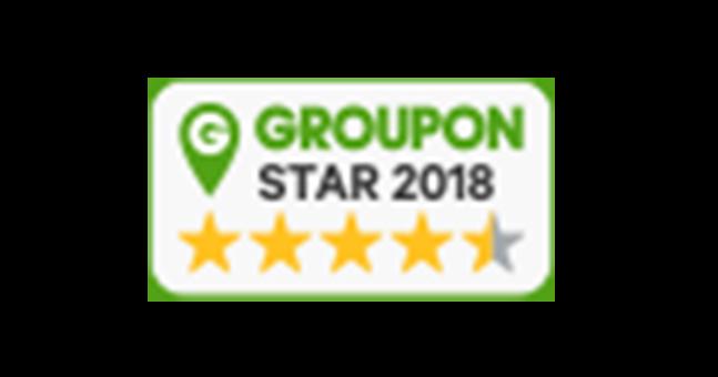 Seit 2018 sind wir Partner von Groupon Star